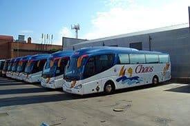 Autocares Chaos - Tenemos autocares especializados para sus celebraciones