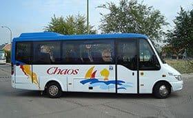 Autocares Chaos - Realizamos un transporte escolar seguro y cómodo