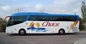 Autocares Chaos - Alquilamos autocares para viajes por España y el extranjero