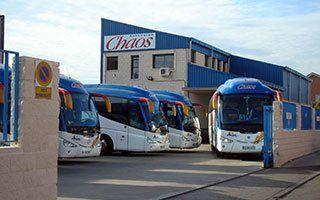 Autocares Chaos - alquiler de autocares en Madrid