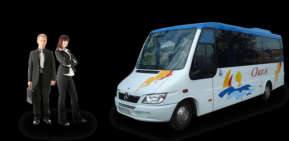 Autocares para transporte laboral