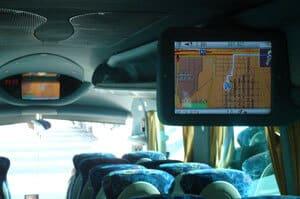 equipamiento interior de los autobuses