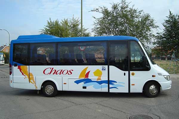 minibus escolar