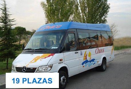 Autobús de 19 plazas