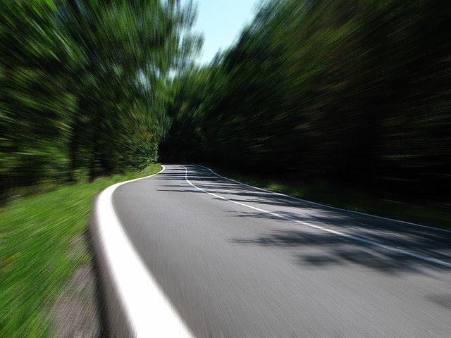 velocidad carretera